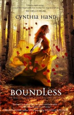 News: Capa Australiana do livro Boundless, de Cynthia Hand 7