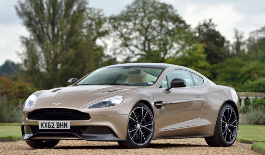 Gambar Mobil Aston Martin Vanquish