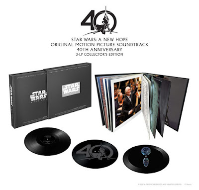 'A New Hope' 40th Anniversary Soundtrack Vinyl Box