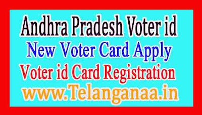 Andhra Pradesh Voter id Card Apply AP New Voter id Online Apply