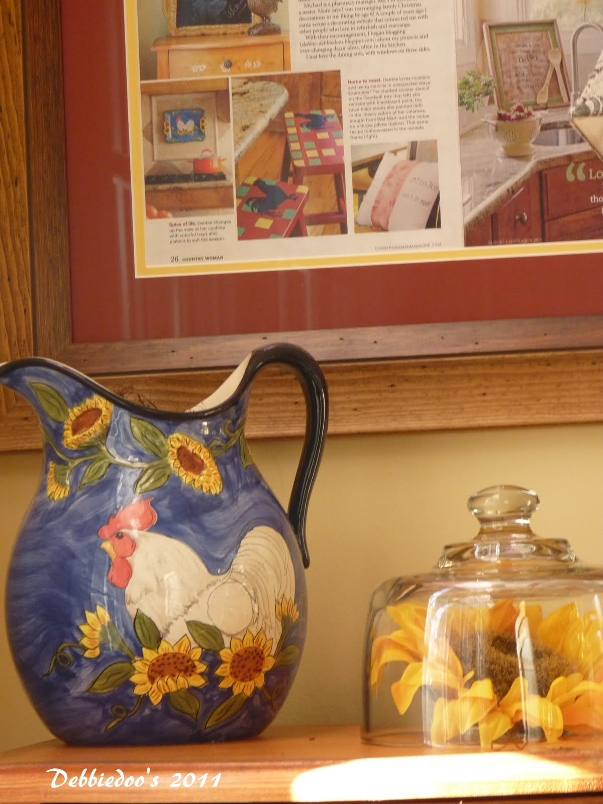 Rooster Decor In Living Room: Rooster Kitchen Decor {French Country}