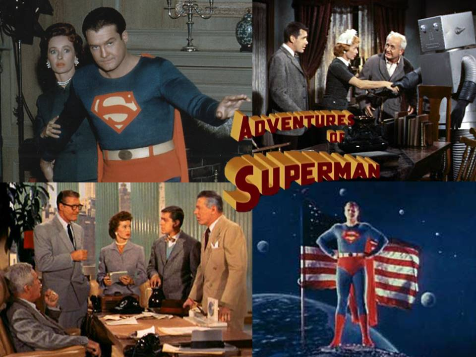 superman tv series actor | This was originally a black and ... |Superman Black And White Tv Show