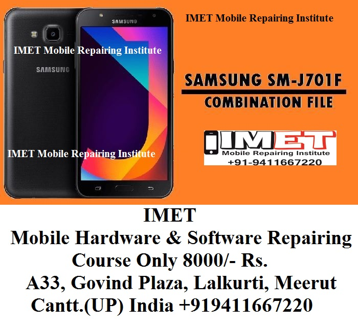 Samsung SM-J701F Combination File (Firmware ROM) - IMET Mobile