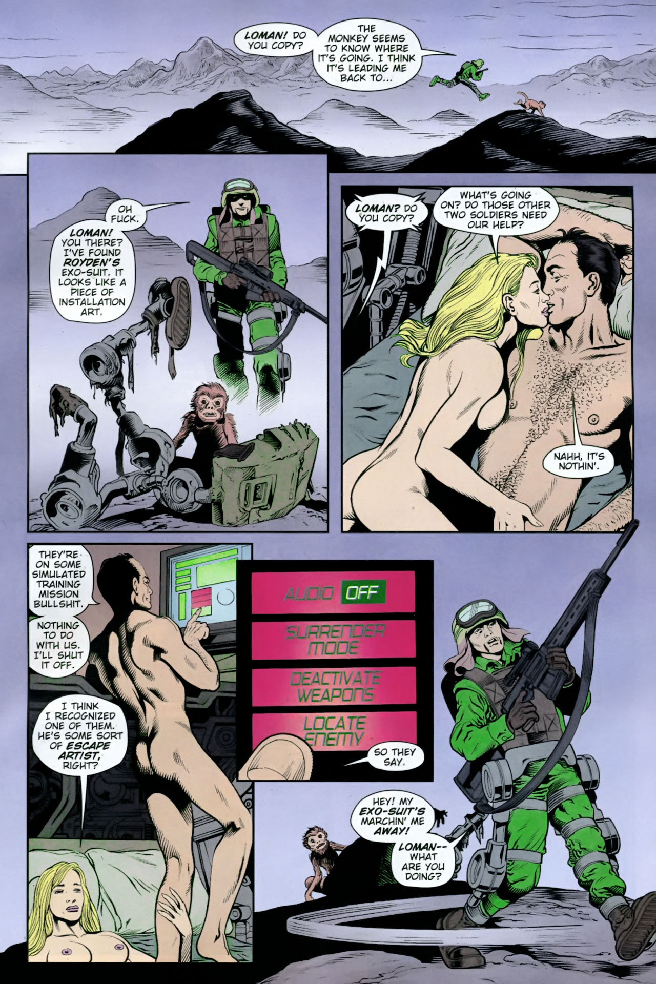 Read online Army @ Love comic -  Issue #12 - 11