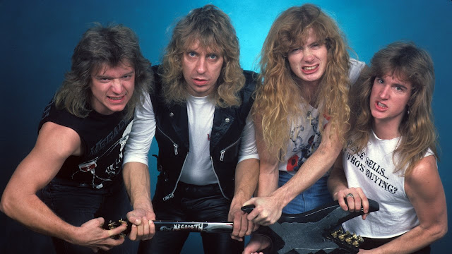 Dave Mustaine cuenta anécdotas primer disco Megadeth Killing is my business... and business is good