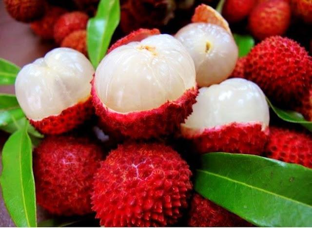 εξωτικό φρούτο «λίτσι»