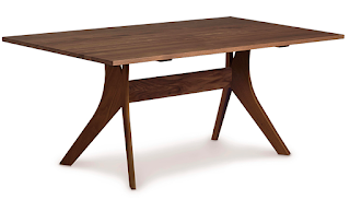 Safe healthy non toxic furniture solid wood table with safe stains