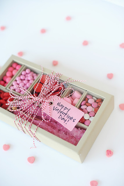 diy valentine gift idea candy box