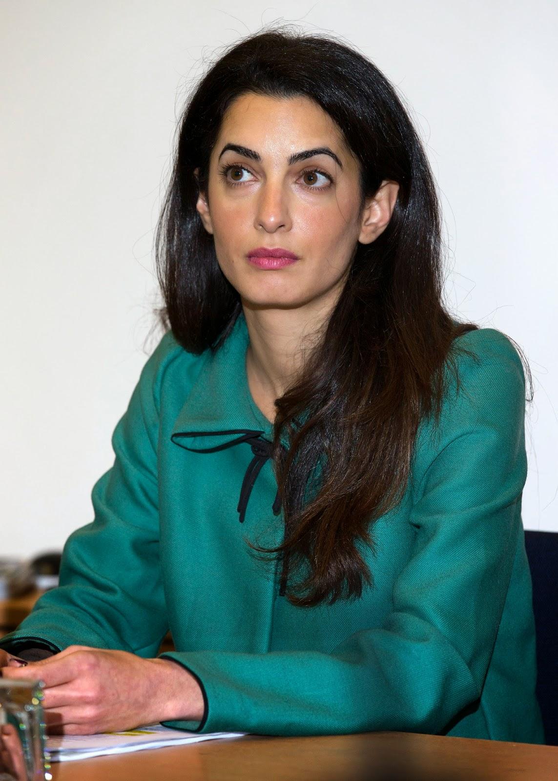 Amal Alamuddin, Britain Lawyer, British lawyer, Entertainment, George and Amal, George Clooney, George Clooney Girlfriend, Hollywood, Hollywood Actor, Oscar-winner, Showbiz,