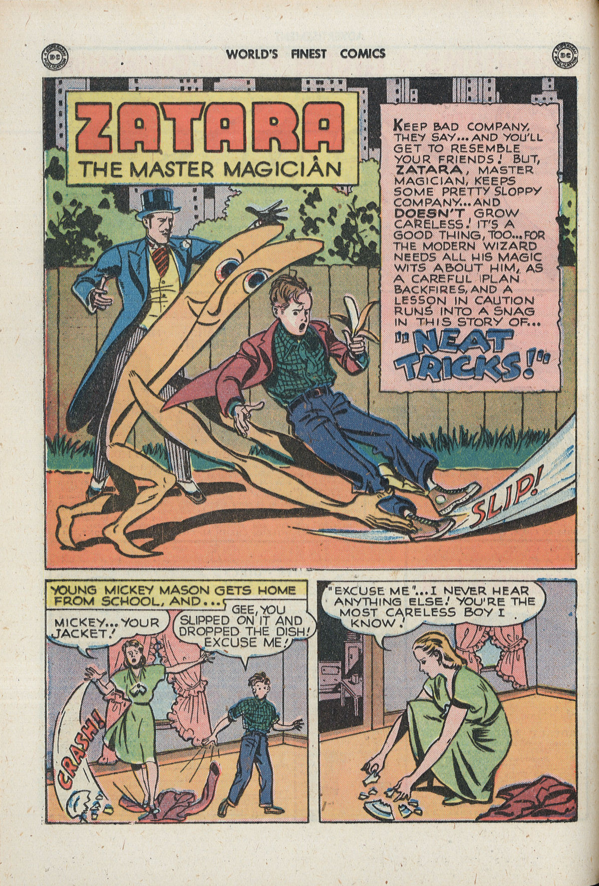 Read online World's Finest Comics comic -  Issue #33 - 28