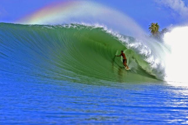 nias surfing beauty