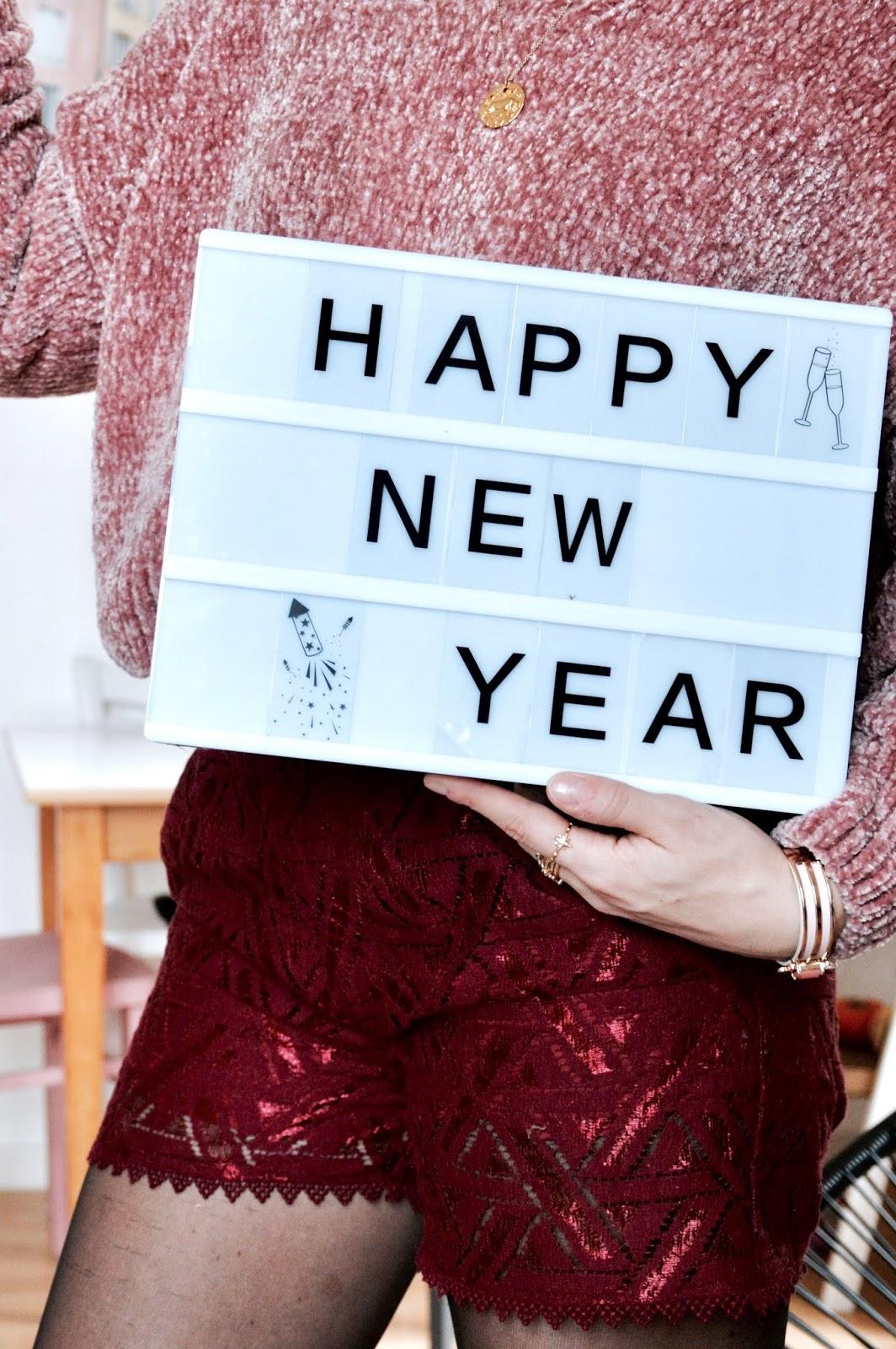 Nouvel an : Look de fêtes de fin d'années décontractée