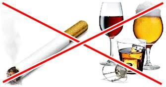 El cigarrillo y el alcohol adelgazan tus músculos