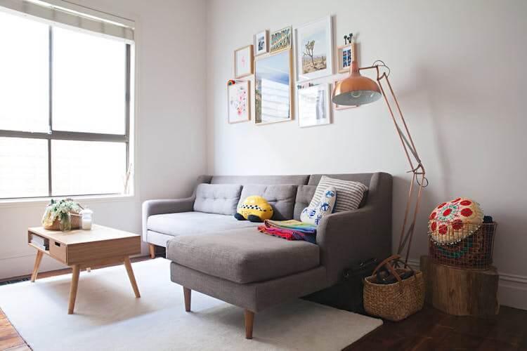 Cómo decorar tu primera casa. El salón