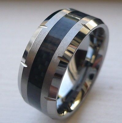 Mens Tungsten Carbide Wedding Rings
