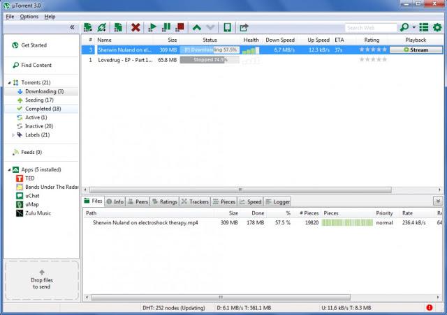 تحميل برنامج يو تورنت أخر إصدار كامل مجاناً uTorrent 2018 للكمبيوتر والموبيل