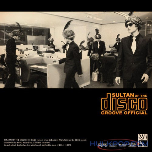 Sultan of the Disco – Groove Official – EP