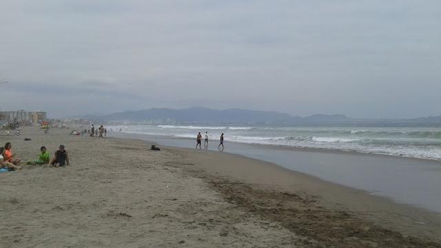 Las Playas de La Serena se extienden hacia el sur hasta Coquimbo