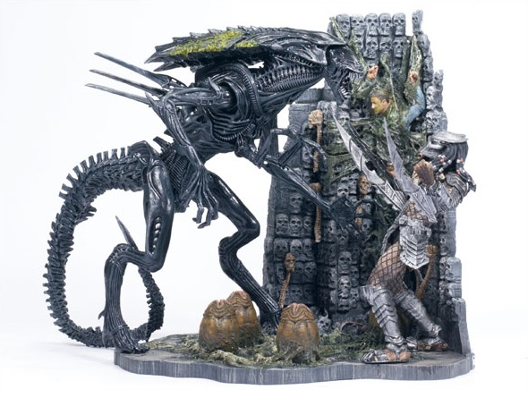 Alien VS Predator 2 Movie 5 Figure Set  New 2005 McFarlane Toys