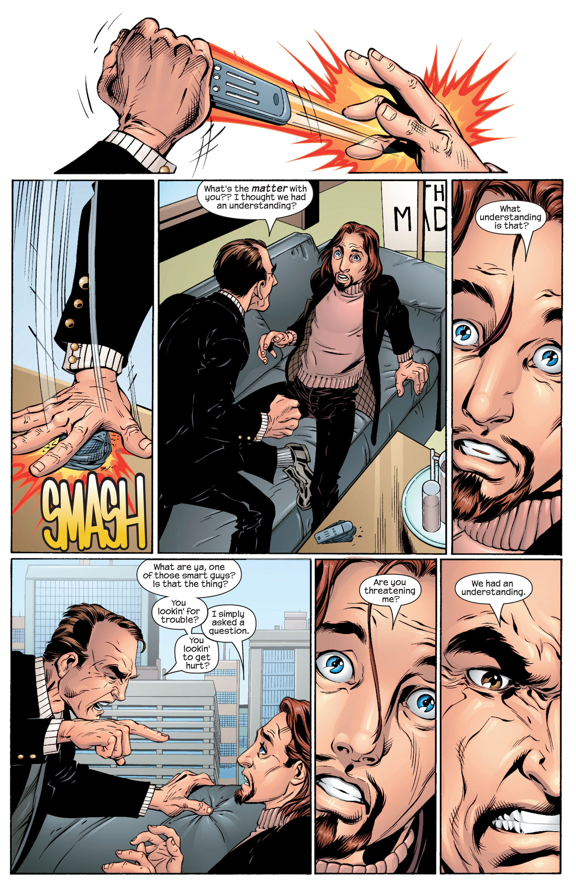 Read online Ultimate Spider-Man (2000) comic -  Issue #48 - 19