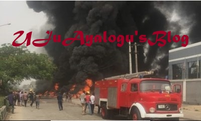 Breaking News!! Gas Explosion At Magodo, Lagos State, 2 Feared Dead