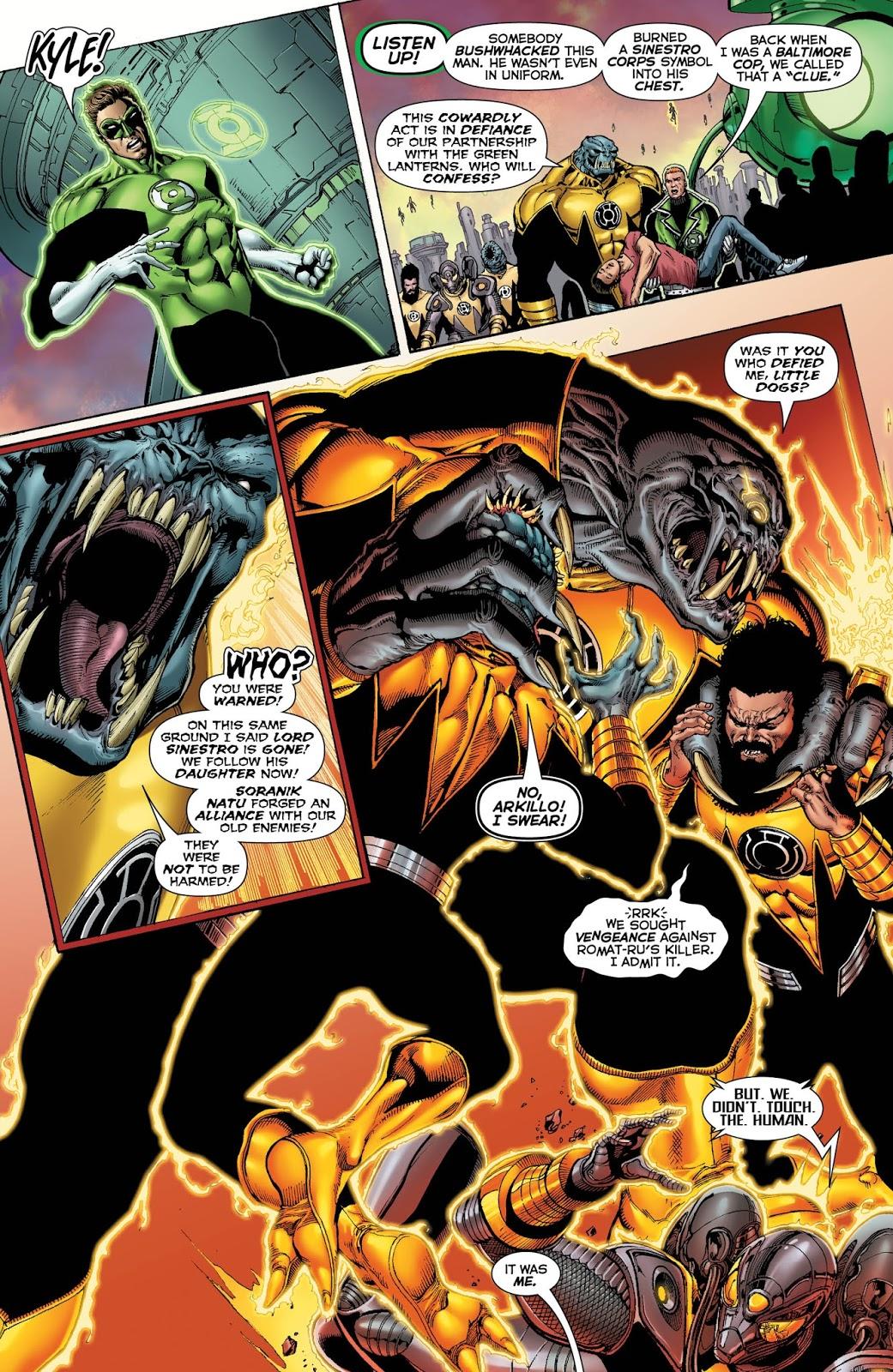 Weird Science Dc Comics Hal Jordan And The Green Lantern Corps 25