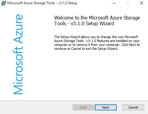 Port 5480: Copying files to Azure Storage Blob