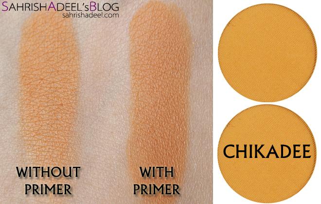 Makeup Geek Pressed Eyeshadows - Chikadee