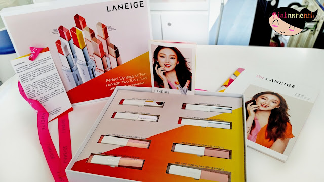 Laneige Two Tone Lip Bar & Shadow Bar Collection pinknomenal.blogspot.com