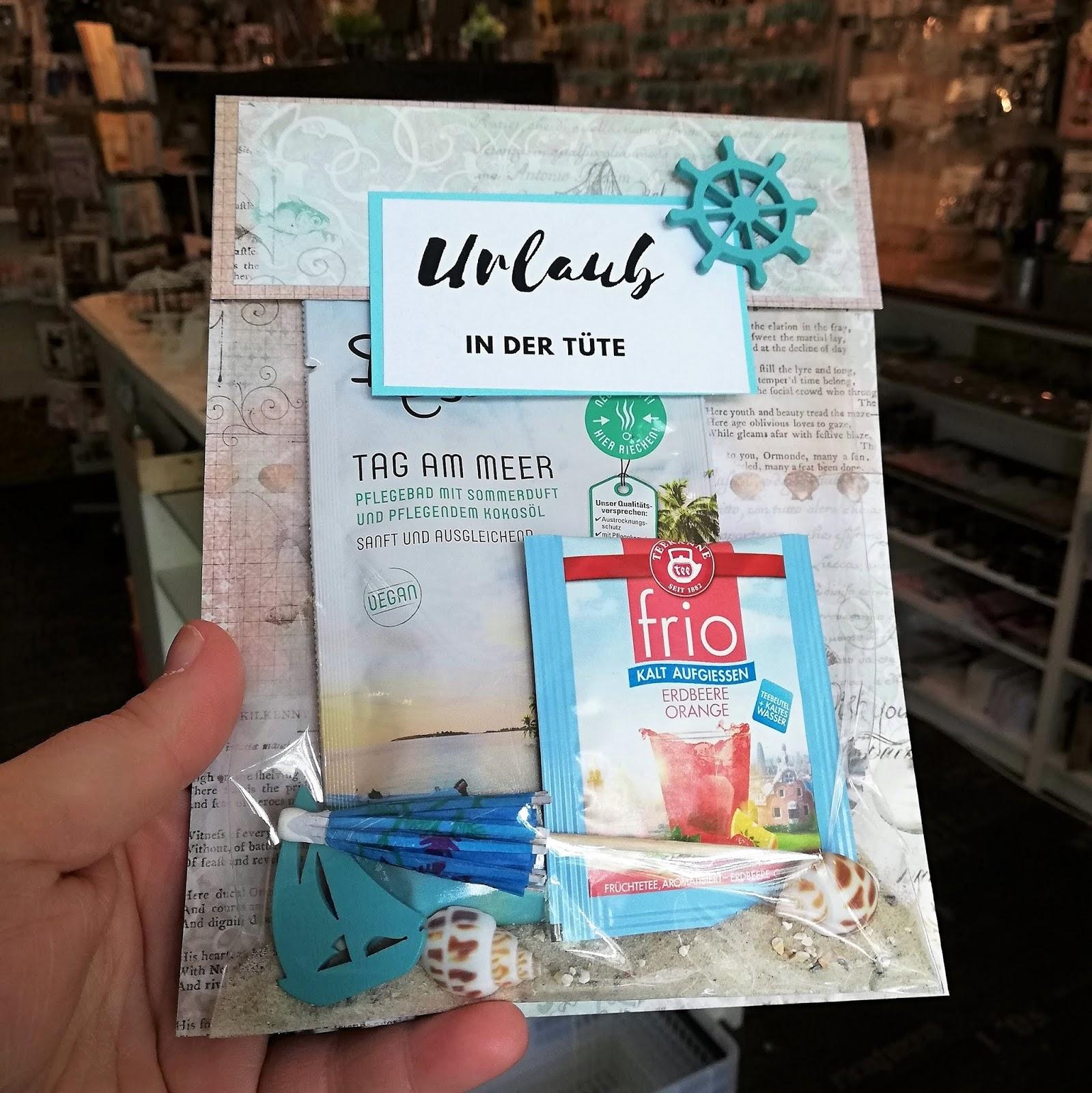 Crafts By Mirka Diy Urlaub In Der Tute Basteln Fur Mit Liebe