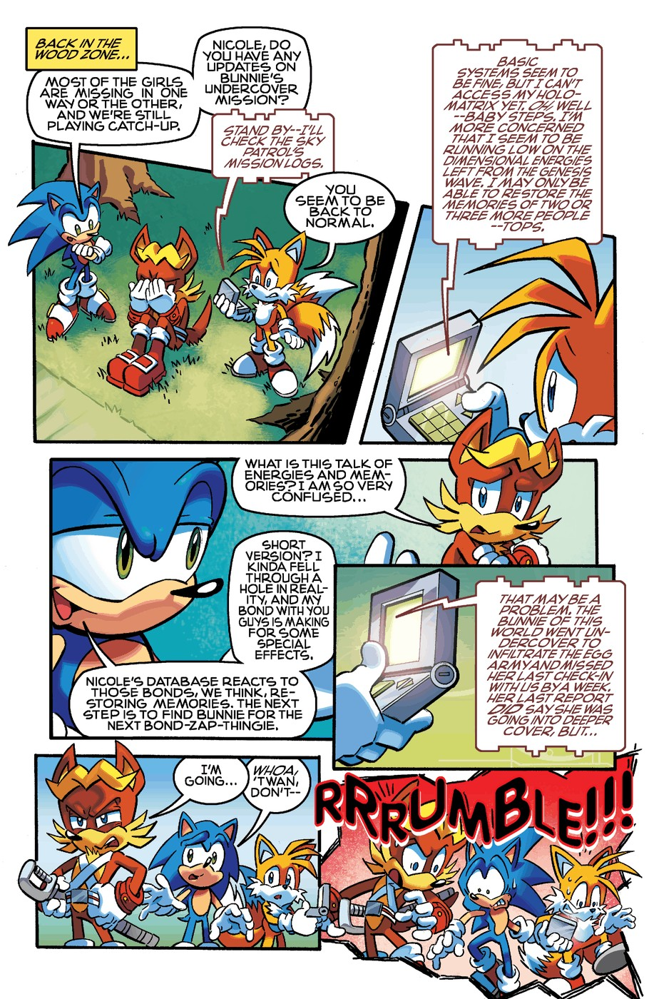 Read online Sonic The Hedgehog comic -  Issue #254 - 15