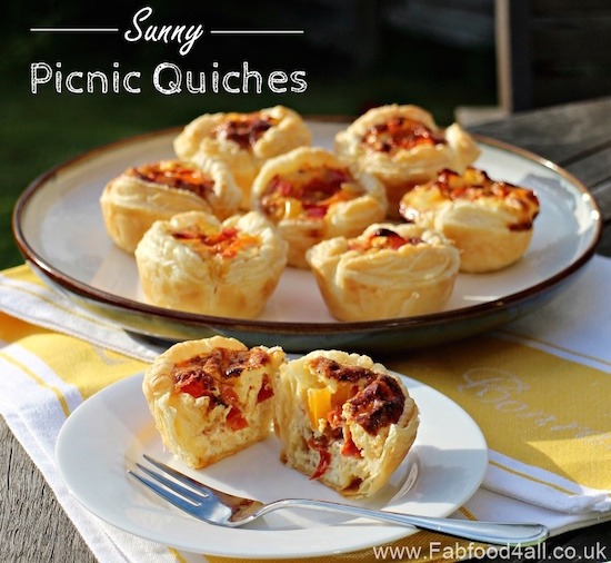 Picnic Quiches