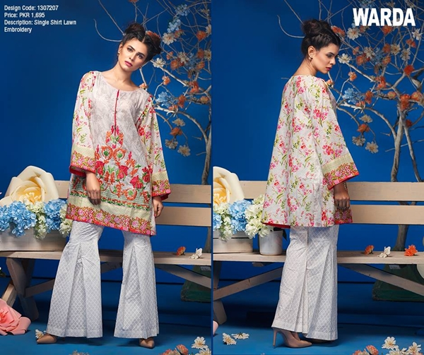warda lawn spring summer collection 2017 vol 1