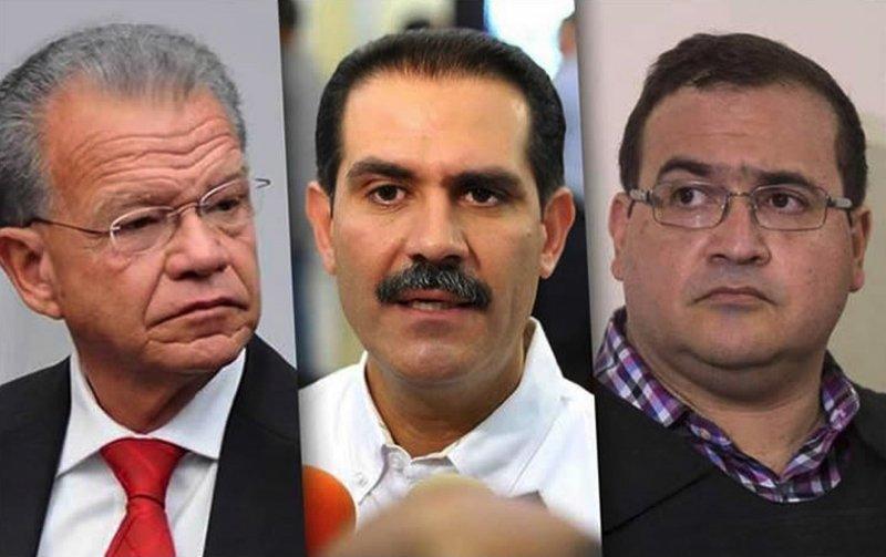 Podrían quedar libres Granier, Padrés y Javier Duarte