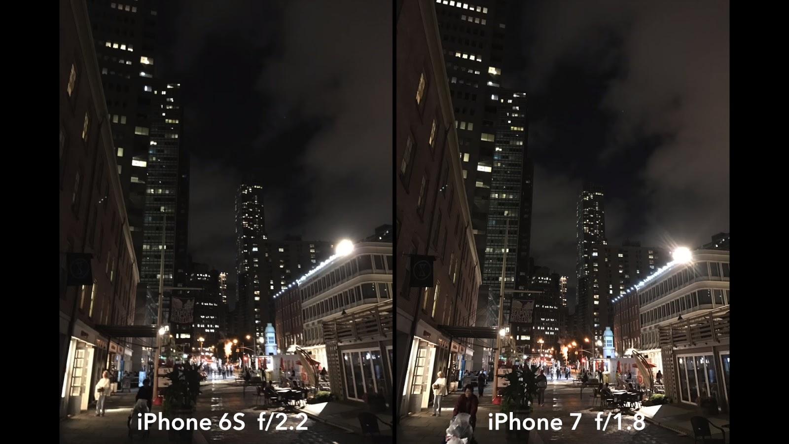 iphone 6s vs iphone 8 camera
