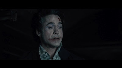 "Robert Downey Jr Sherlock Holmes looks like Joker ""Sherlock Holmes: A Game of Shadows"""