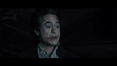 "Robert Downey Jr Sherlock Holmes looks like Joker ""Sherlock Holmes: A Game of Shadows"""