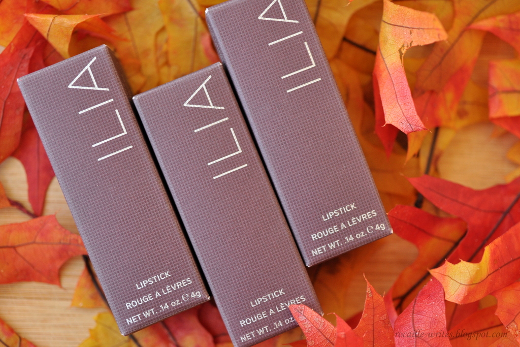 ILIA Fall 2016 Lipsticks* Review: The Brides, Madam Mina and Lucy's Party