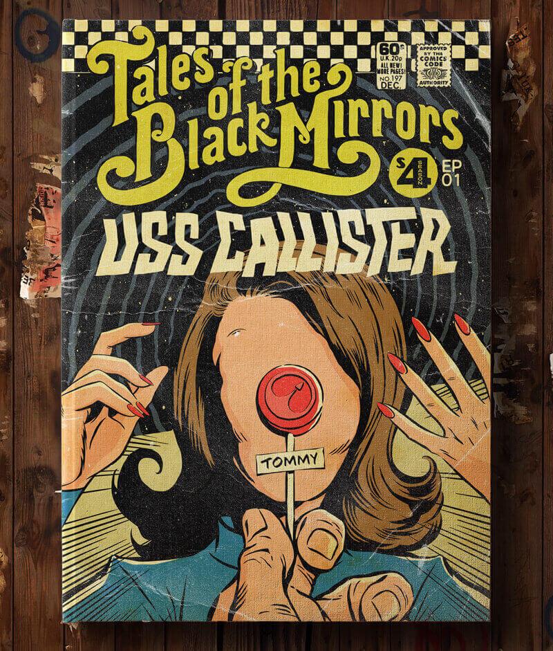 Butcher Billy Black Mirror