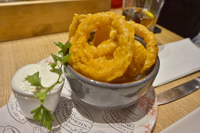 Old White Swan York Onion Rings