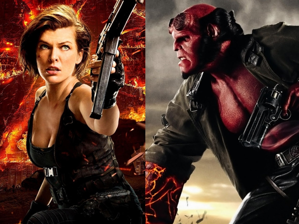 'Resident Evil's' Milla Jovovich is Hellboy's enemy in the reboot.