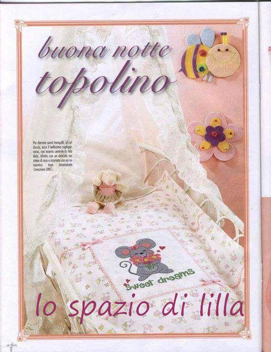 Lo spazio di lilla copertine per neonato con topolini a for Lo spazio di lilla copertine neonato