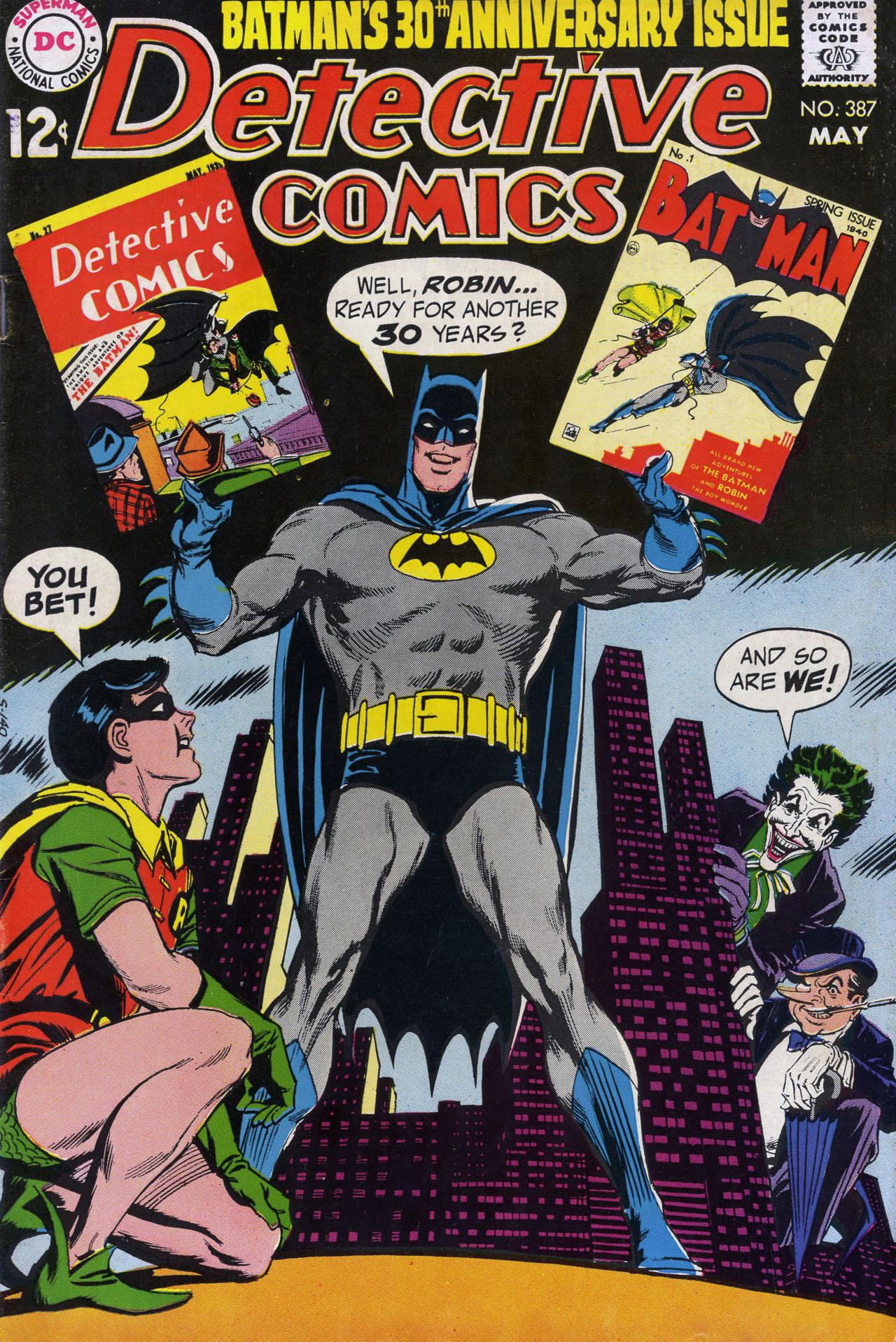 Detective Comics (1937) 387 Page 1