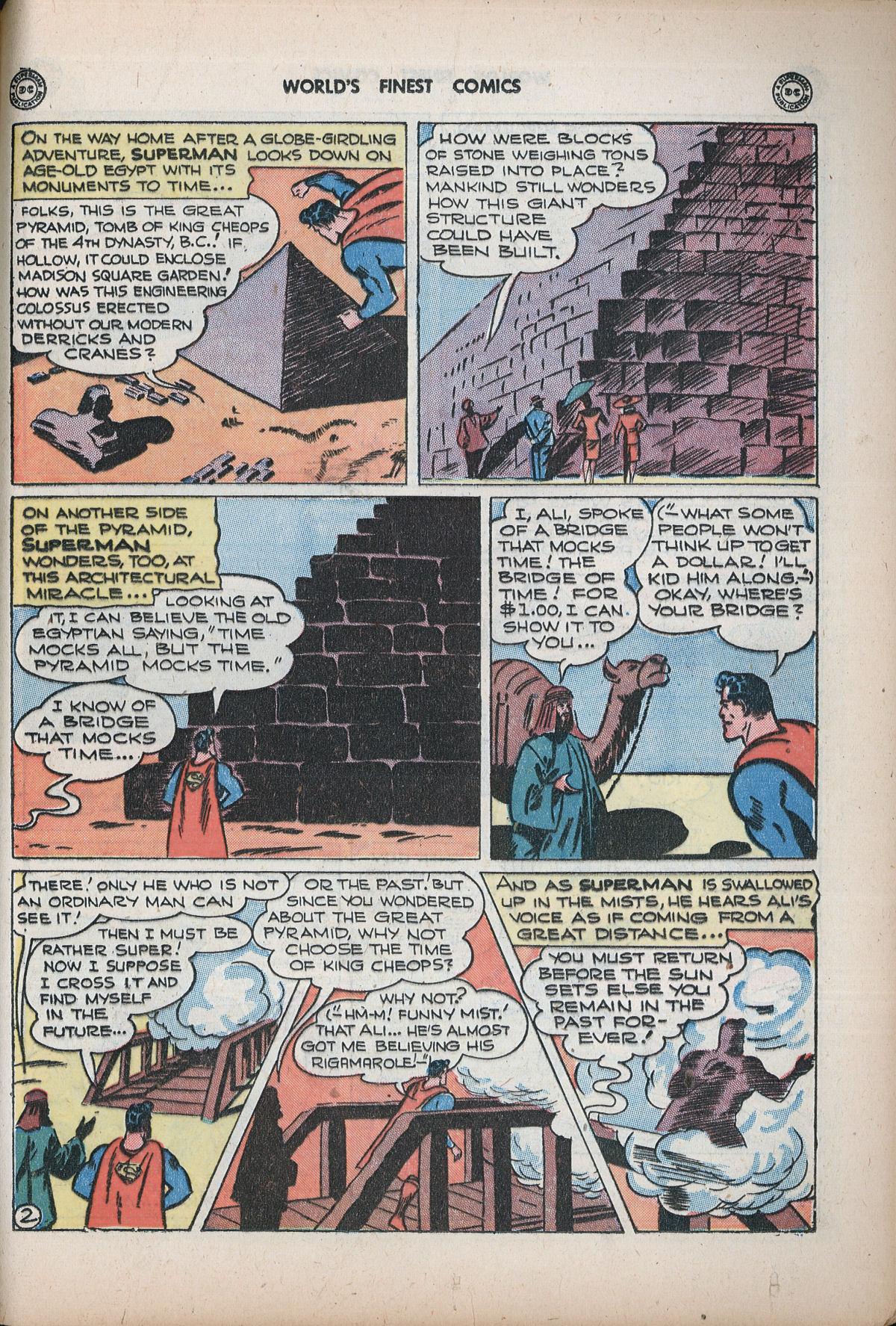 Read online World's Finest Comics comic -  Issue #32 - 61