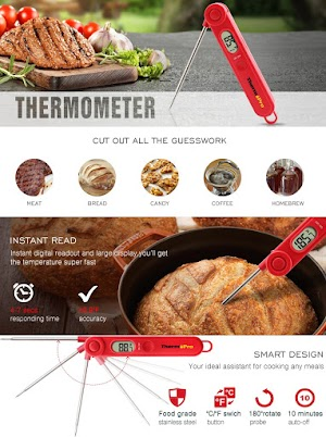 Thermopro TP03a Digital Instant Read Food Cooking Thermometer