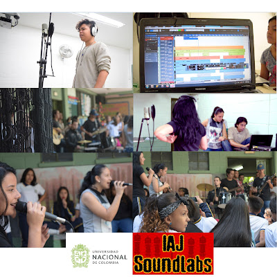 iaj sound labs studio con universidad nacional