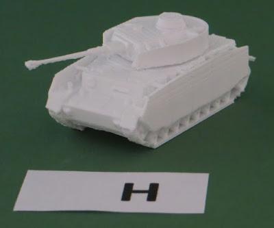 Ausf H,     7.5cm KwK 40 L/48 gun, schurzen