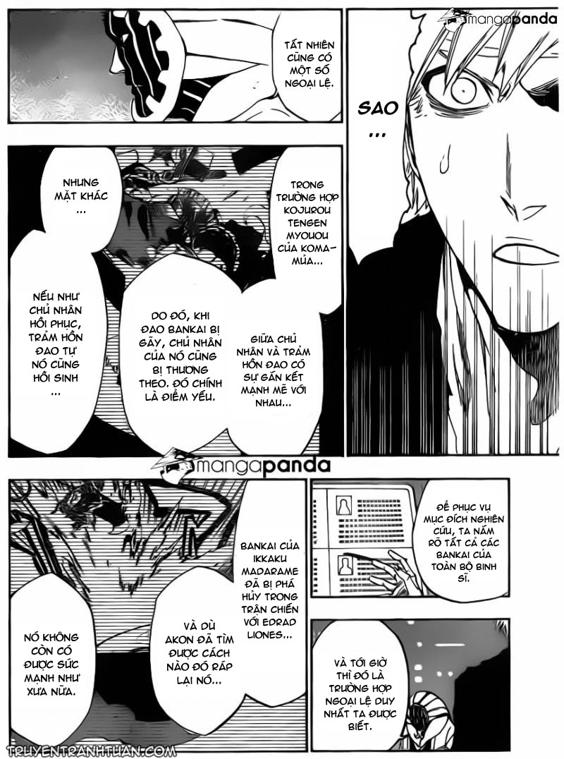 Bleach chapter 515 trang 6