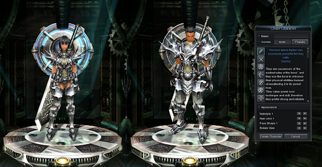 Warrior - The 7 Battle Styles of Cabal Online