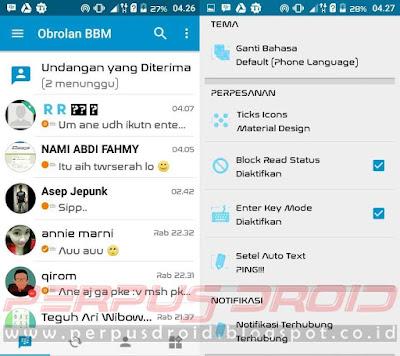 Download BBM Mod Original Mix Max Versi 3.0.0.18 Apk